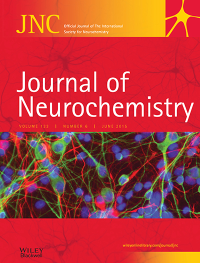 Journal of Neurochemistry Logo